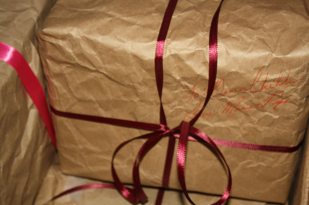Recycled Wrapping Paper